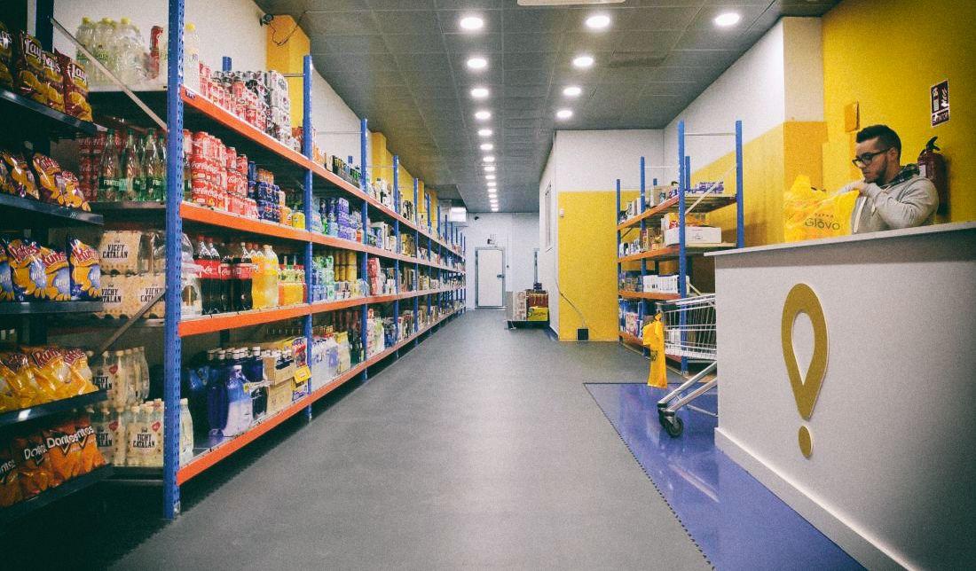 В Украине начал работу первый dark store Glovo