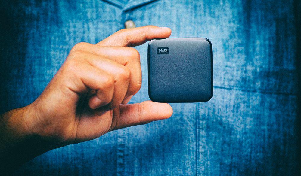 Western Digital представила маленькие и прочные портативные твердотельные накопители
