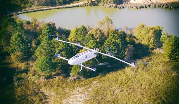 Гибридный дрон может летать более трех часов без подзарядки