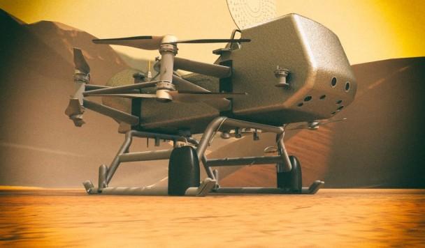 NASA строит дрон для поиска жизни на Титане