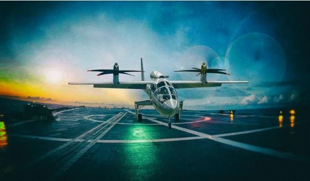 Гибридно-электрическое аэротакси Pegasus обладает огромным запасом хода