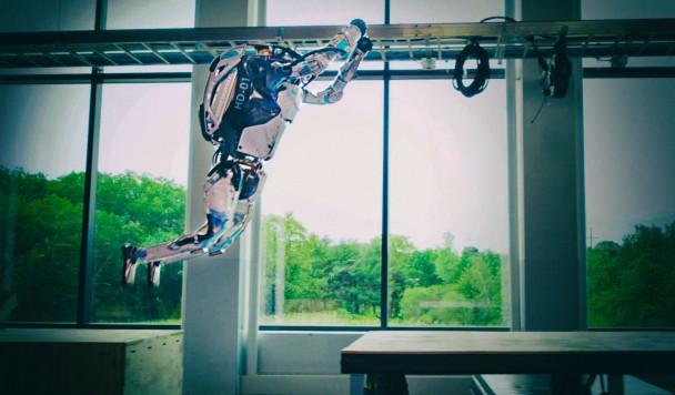 Роботы Boston Dynamics снова демонстрируют чудеса паркура