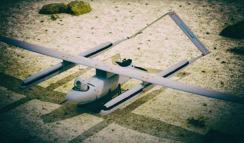 Создан необычный дрон, который прячет лопасти во время полета