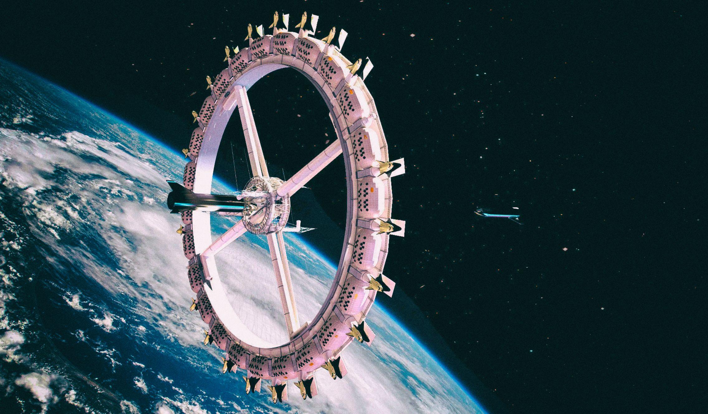 Кто-то тайно строит частную космическую станцию