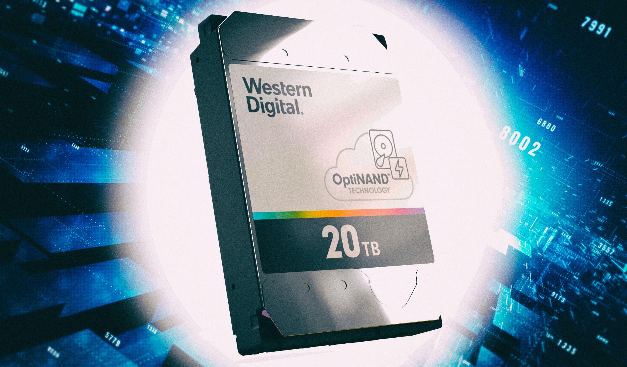 Western Digital представила новую архитектуру хранения данных на жестких дисках