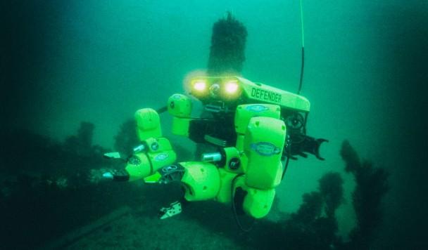 Создан робот для автоматического обезвреживания морских мин