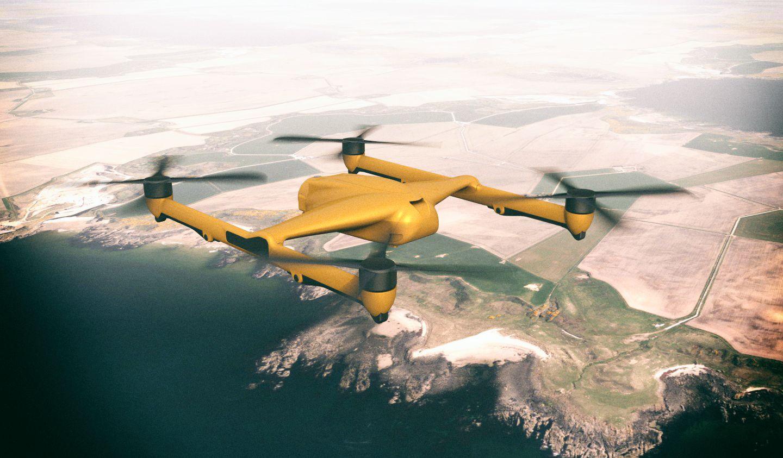 BAE Systems строит квадрокоптер с грузоподъемностью 300 кг
