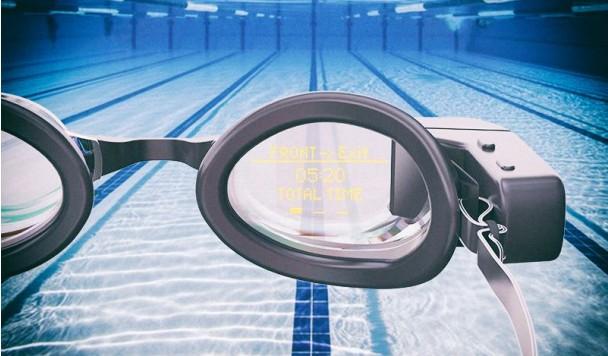 Разработаны смарт-очки для профессиональных пловцов