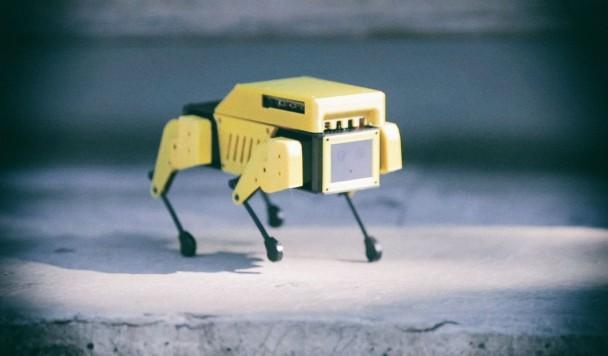 Создан крошечный робопёс с открытым исходным кодом