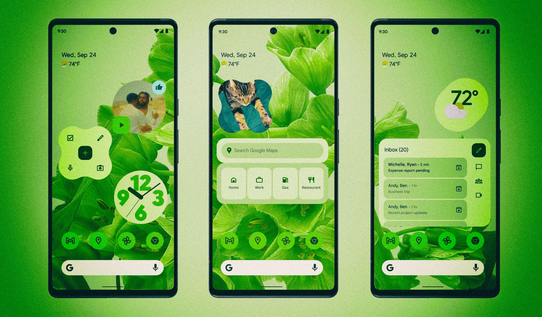Самые интересные новые функции Android 12