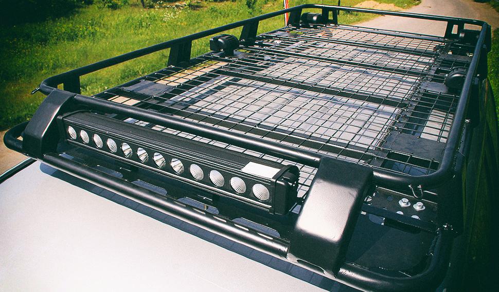 Экспедиционный багажник на крышу внедорожника — легкая и прочная конструкция для перевозки вещей