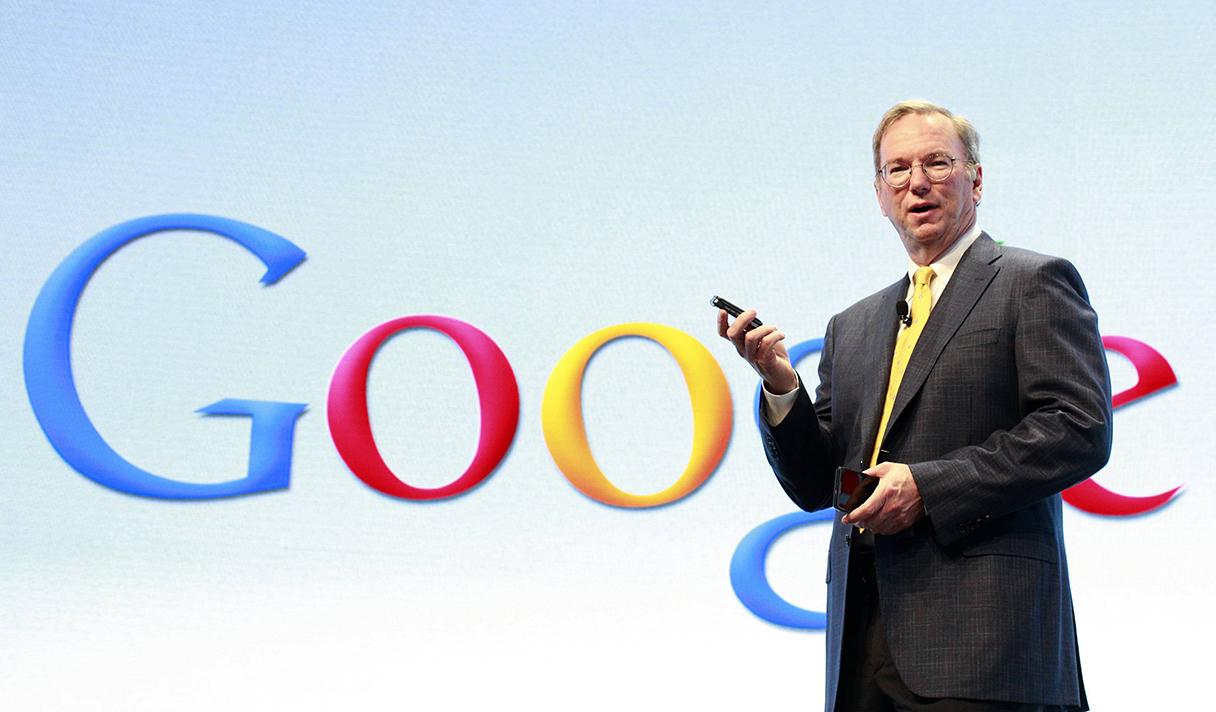 Google стрелочник. Как Эрик Шмидт за Интернет вступился
