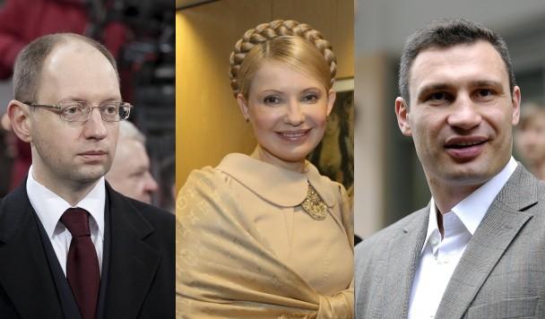 ТОП-5 украинских политиков в Facebook и Twitter