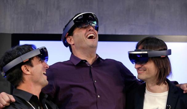 Голографические очки HoloLens – нереальная реальность!