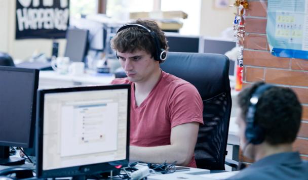 Стас Калацкий, менеджер по персоналу DataArt:  «Мы «берем за живое» хорошим отношением, перспективами, интересной работой»