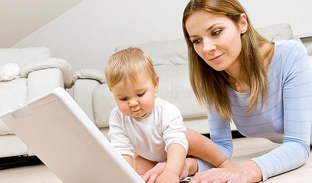 Декрет в интернете: как получить дополнительный доход сидя дома