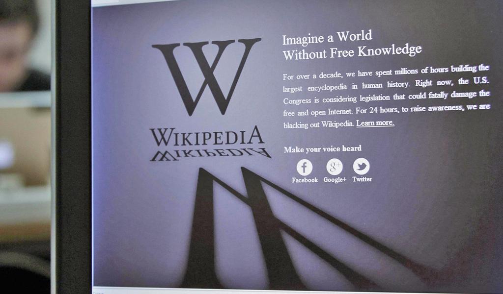 Wikipedia, спецслужбы и свободный интернет