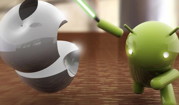 Страх и ненависть в смартфоне: Apple vs Android