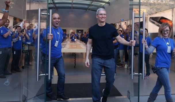 Рост продаж iPhone 6 превосходит все ожидания