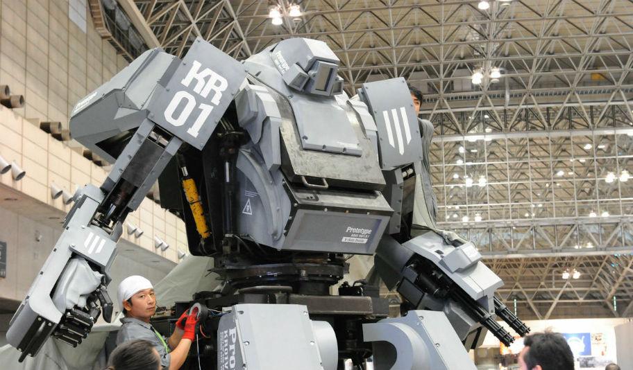 Когда пройдет дуэль гигантских роботов?