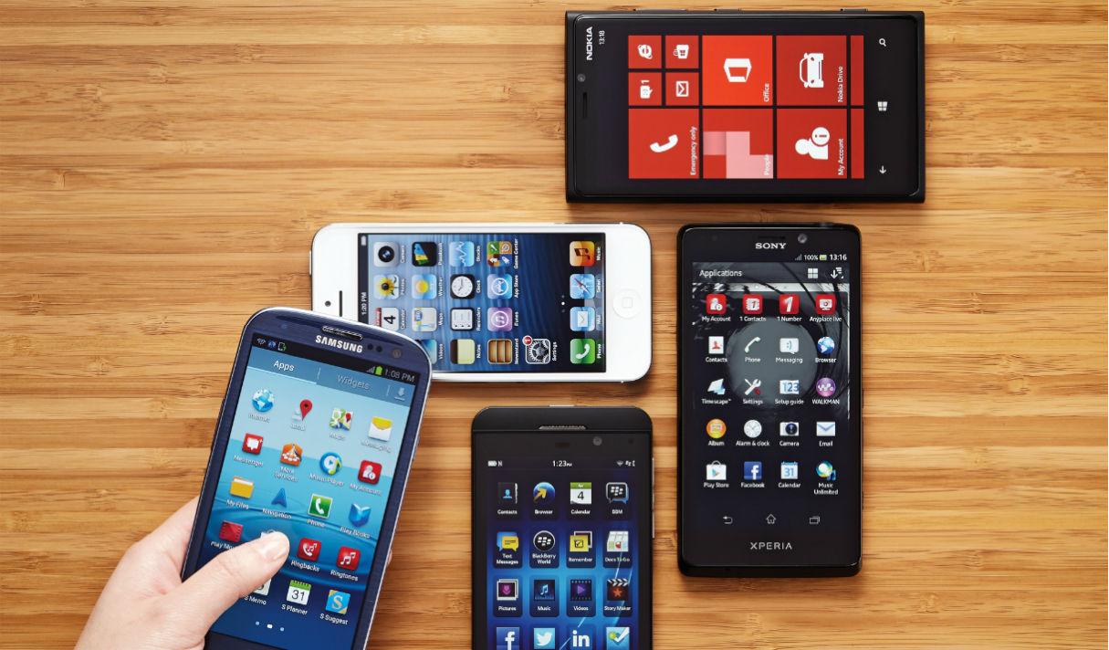Смартфоны и их использование (инфографика)