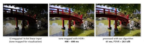 Google показал систему для автоматической ретуши фотографий прямо в момент съемки
