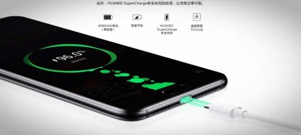 Смартфоны Huawei смогут полностью зарядиться за полчаса