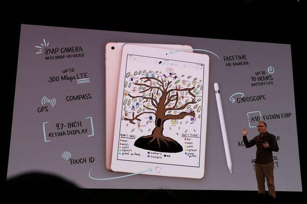 Apple представила свой самый дешёвый iPad