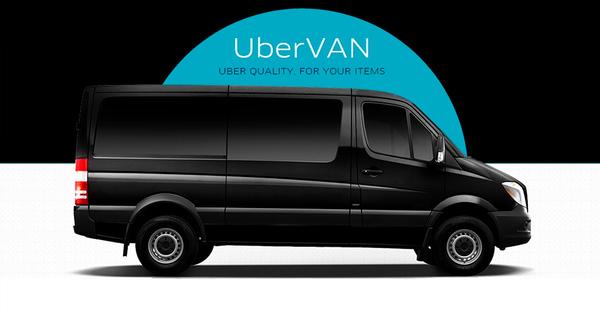 Uber запускает в Украине сервис вызова микроавтобусов