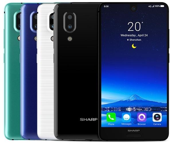 Смартфоны Sharp придут в Европу в 2018 году