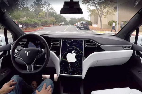 Apple разрешили испытывать беспилотные автомобили в Калифорнии