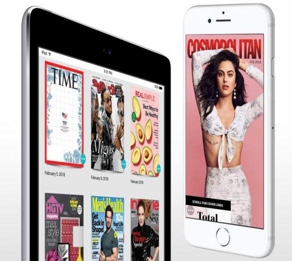 Apple купила сервис для чтения журналов Texture