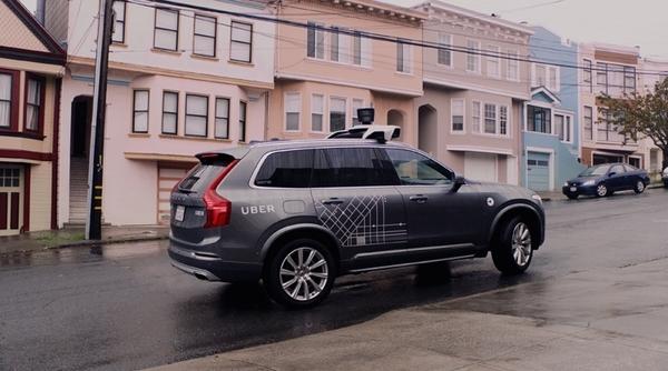 Uber поможет пассажирам робомобилей совладать с морской болезнью