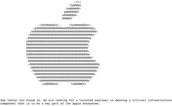 В сети нашли секретный сайт Apple по найму специалистов