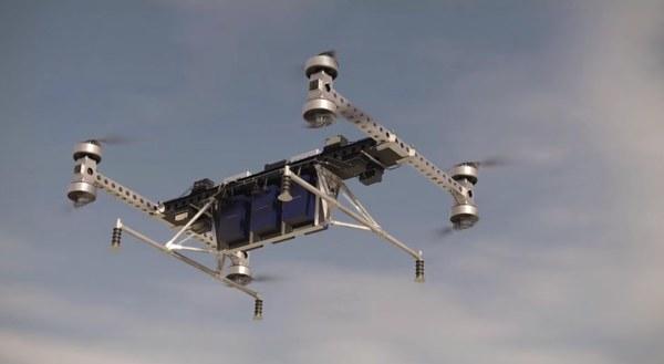 Boing провел испытания своего грузового мультикоптера (видео)