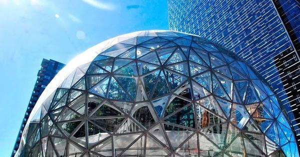 Amazon открыл необычную штаб-квартиру (фото)