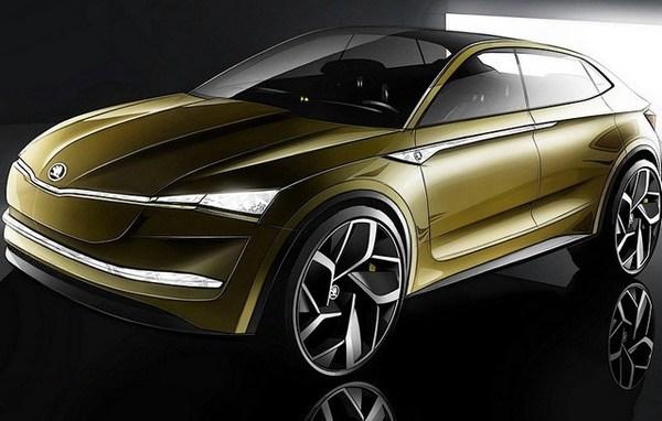 Skoda показала свой первый беспилотный электромобиль