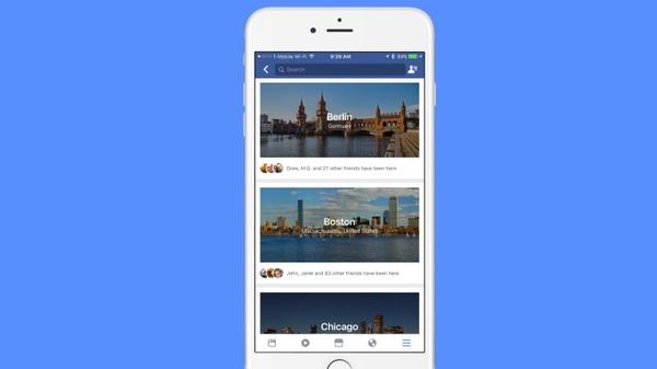 Facebook создал путеводитель по городам