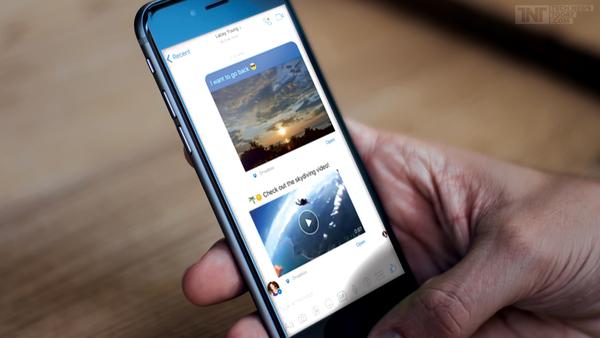 В Facebook Messenger появилась поддержка Dropbox