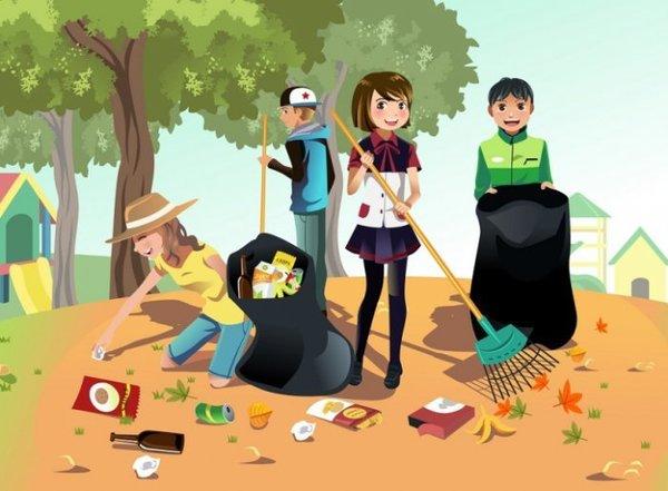 В Украине появится мобильное приложение, которое поможет убирать мусор организовано