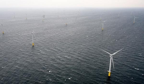 Германия построит ряд крупных ветровых электростанций в море
