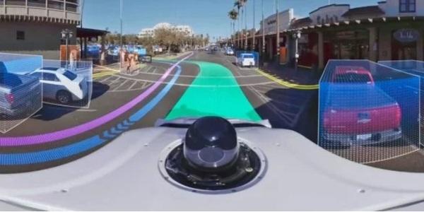 Waymo показала, как самоуправляемые машины «видят» мир (видео)