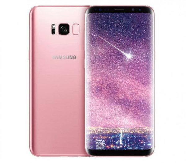 Samsung официально представила Galaxy S8+ в цвете «розовое золото»