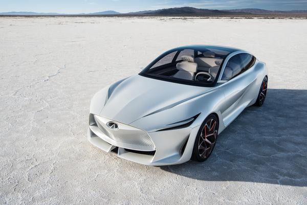 Infiniti выпустит свой первый электромобиль в 2021 году