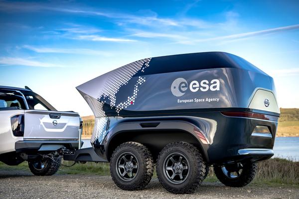 Nissan и ESA создали передвижную астрономическую лабораторию