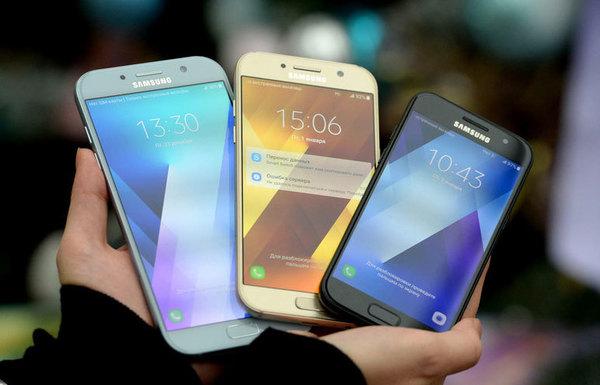 Samsung представил обновленную линейку смартфонов Galaxy A