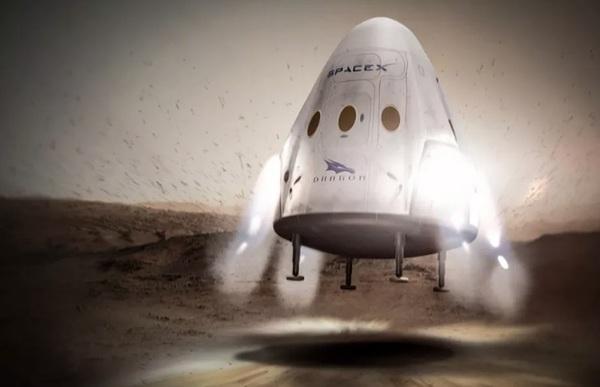 SpaceX перенесла первый запуск космического грузовика Dragon на Марс