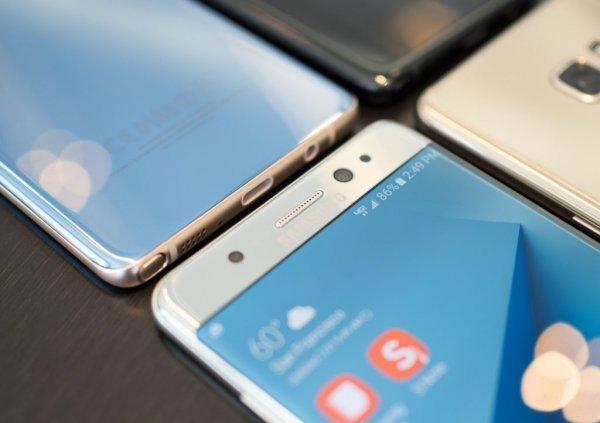 Спрос на Galaxy Note 7 в Корее вдвое больше чем был на Galaxy S7