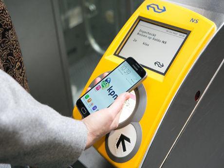 Vodafone запускает сервис мобильных платежей в транспорте Нидерландов