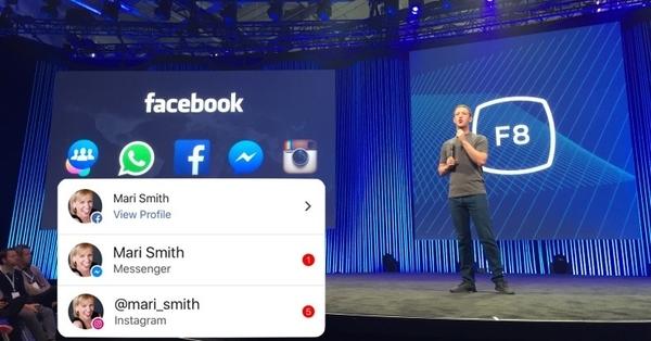 Facebook тестирует единое окно уведомлений из соцсети, мессенджера и Instagram
